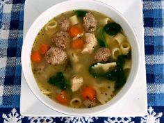Baking and Cooking, A Tale of Two Loves: Italian Wedding Soup
