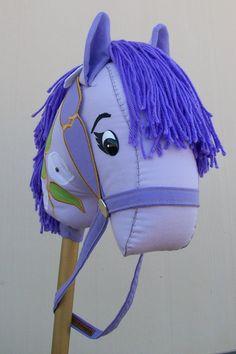 Stick Horse Carousel Purple by RusticHorseShoe