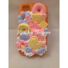 Kawaii Squishy Bread Deco Den Pastel iPhone Case on Etsy, $29.00