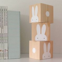 I've just found Wooden Rabbit Play Cubes. Bespoke, handmade wooden Play Cubes with Rabbits and spots. Play Cube, Cube Toy, Diy For Kids, Crafts For Kids, Big Kids, Baby Building Blocks, Wooden Rabbit, Wooden Cubes, Montessori Toys