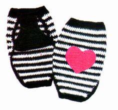 Mis Pasatiempos Amo el Crochet: Ropa para mascotas
