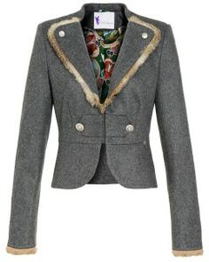 TRACHTSETTER - Trachten-Blazer #tracht #blazer #fashion #alpencouture #trachtsetter Couture, Blazer Jacket, Nice Dresses, My Style, Jackets, Fashion, Executive Fashion, Fashion Styles, Knit Jacket
