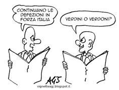 Defezioni in Forza Italia
