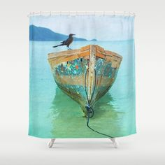 BOATI-FUL Shower Curtain by Catspaws | Society6