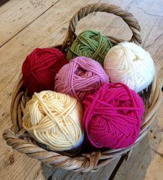 Drops Extra Fine Merino - Pom Pom bunting on the LoveCrochet blog