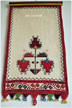 Pano Creative Embroidery, Embroidery Patterns Free, Crewel Embroidery, Cross Stitch Embroidery, Bargello, Cross Stitching, Handicraft, Lana, Bohemian Rug