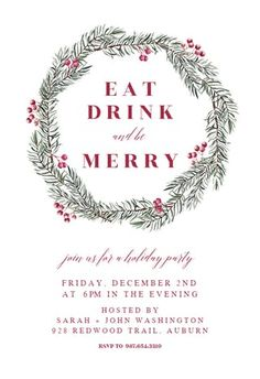 Customize, add text and photos. Print for free! Free Christmas Invitation Templates, Christmas Card Template, Free Christmas Printables, Christmas Frames, Christmas Tea, Christmas Birthday, Christmas 2019, Christmas Wedding, 50th Birthday