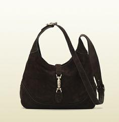 jackie nubuck leather shoulder bag