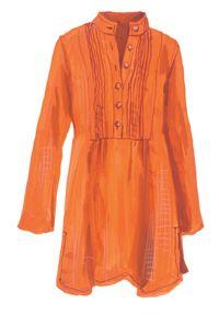 English Tunic Blouse linen
