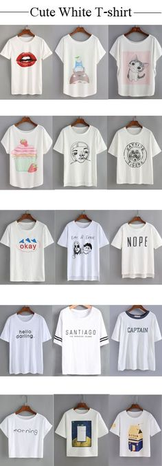 nice Amazing cute tees! It's basically one of those classic t-shirts that you can h...