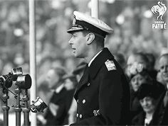 """royallymonroe: """" """" The Real King's Speech King George VI opens The Empire Exhibition in Glasgow, Scotland, 1938. Despite visibly struggling, taking several pauses throughout the speech, the King..."""