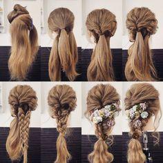 """いくつあっても便利なヘアアレンジのバリエーション。自分でさくっと出来るようになりたいって思いますよね。初心者さんでも出来る、人気サロン直伝の""""大人可愛いヘアアレンジ""""を一気にご紹介♡"""