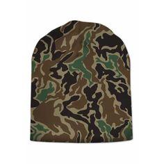 CAMOUFLAGE BEANIE CAP
