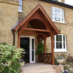 The English Porch Company. Stained porch