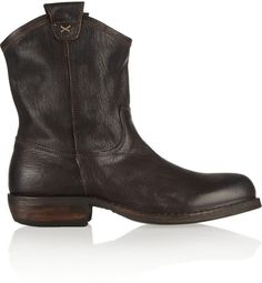 Fiorentini+Baker Fiorentini & Baker Cruna oiled-leather ankle boots on shopstyle.co.uk