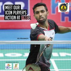 Meet our icon player #prannoyhs action at #TNBSL