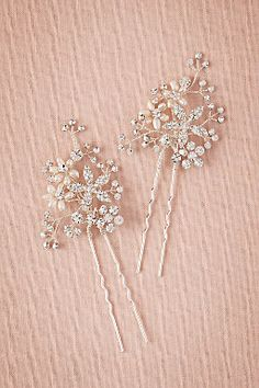 Shop our 2017 selection of elegant hair accessories at BHLDN. Explore our collection of bohemian hair accessories, in new and vintage-inspired styles. Bride Hair Accessories, Bridal Hair Pins, Wedding Hair Pieces, Floral Crown, Headpiece, Wedding Hairstyles, Wedding Inspiration, Hair Bands, Hair Styles