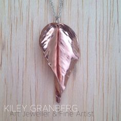 *RESERVED* The leaves are made one by one from copper sheet using a technique called fold-forming. The results are stunning and every leaf is unique. Pendant is approx 4 cm long on an sterling silver chain. Copper Jewelry, Jewelry Art, Copper Sheets, Canadian Art, Leaf Pendant, Sterling Silver Chains, Unique Art, Drop Earrings, Jewels