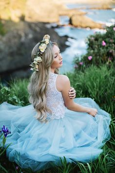 Sleeveless lace Audrey top and tulle skirt by Bliss Tulle  Model: Stephanie Danielle  Anna Perevertaylo Photography