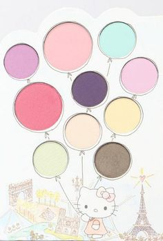 Hello Kitty's blush and eyeshadow palette by Sephora...color your world!