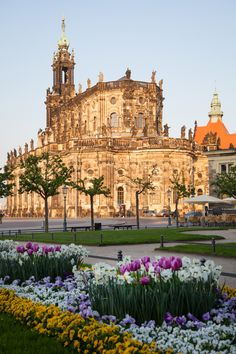 Dresden, Germany. My friends named their child Dresden after this place. I can see why-beautiful!