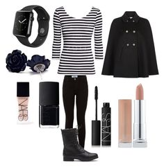 """""""Normal"""" by dark-jewel ❤ liked on Polyvore featuring NARS Cosmetics and Monsoon"""
