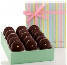 Chocolate Covered Macaroon Collection, 15 piece