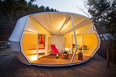 Camping in Style with Glamping Tents | Wave Avenue