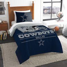 Dallas Cowboys Blanket, Nfl Dallas Cowboys, Twin Comforter Sets, Bedding Sets, Cowboy Bedroom, Brown Bed Linen, Bed Ensemble, Linen Bedding, Linen Pillows