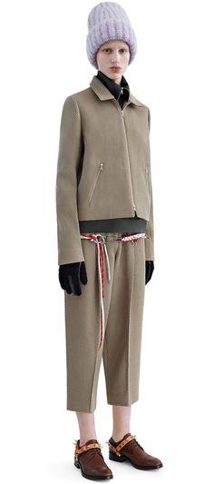 Murol twill camel trousers #AcneStudios #PF15