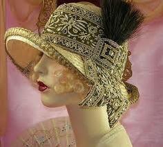 Art Deco Hat. @designerwallace