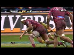 TOP 14 (2012-2013): Clermont - Montpellier, in French