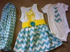 Custom made Little sister dress onesie and big brother matching outfits with the option of a matching mommy scarf