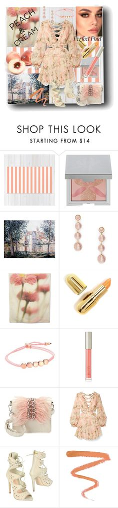 """""""Peach"""" by sherrysrosecottage-1 ❤ liked on Polyvore featuring beauty, Sisley, Sole Society, Winky Lux, Monica Vinader, Ilia, Sam Edelman, Zimmermann, Silvian Heach and Ellis Faas"""