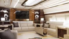 Greenpoint Delivers First 747‐8 VIP Completion - via www.themilliardaire.co