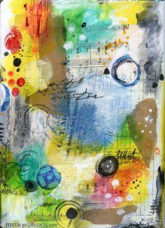 Ronda Palazzari -  4 of top 10 -  Art Journal Pages...