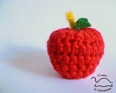 manzana amigurumi