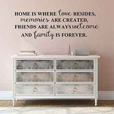 Home Is Where Vinyl Wall Decal Sticker