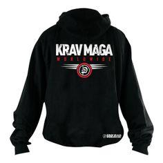 Krav Maga Worldwide Aviator Hoodie, MMA Hoodies, Krav Maga Worldwide Apparel