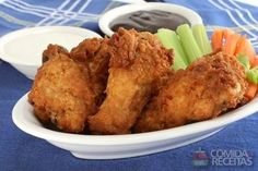 Receita de Coxa de frango à milanesa em receitas de aves, veja essa e outras receitas aqui!