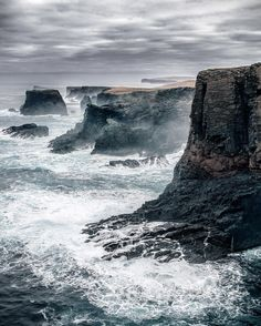 Landscape Photography | Near Eshaness Lighthouse on the Shetland Islands, Scotland (Alex Mazurov Photography)