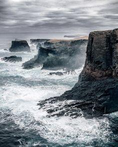 Near Eshaness Lighthouse on the Shetland Islands, Scotland (Alex Mazurov Photography)