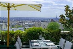When you go to Paris stay at the Terrass Hotel in Montmartre. Gorgeous views!