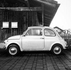 Fiat 500 <3 | Schwarzweißfotografie | Schwarzweiß | Blackandwhite | Blackandwhite Photos