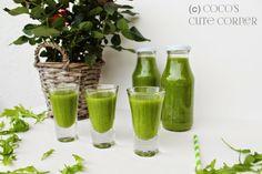 Green Smoothie - ein kleiner Hulk zum Frühstück