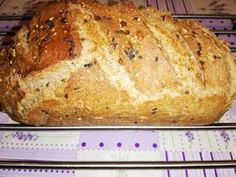 Hűtőben kelt teljes kiőrlésű kenyér Bread Recipes, Cookie Recipes, Vegan Recipes, Ciabatta, World Recipes, Garlic Bread, Bread Rolls, How To Make Bread, Bread Baking