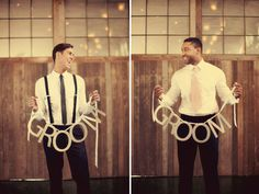 GROOM + GROOM. Charming wedding photo with vintage vibe. LGBT wedding photo. Two grooms wedding photo ideas. #LGBTweddings #WeddingPhotos #WeddingPhotography