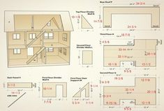 Craft project: Making a dollhouse is much like building a conventional house – it takes time and patience. While there are a lot of pieces to this challenging project, they are not overly complicated to cut and assemble. Canadian Woodworking, Woodworking Plans, Woodworking Projects, Woodworking Chisels, Youtube Woodworking, Woodworking Machinery, Woodworking Classes, Woodworking Videos, Doll Furniture