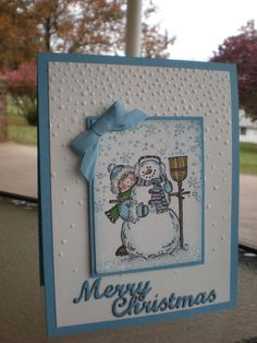 Happy to be in the Snow~ by stampin'nana - Cards and Paper Crafts at Splitcoaststampers
