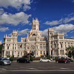Palacio de Cibeles, Madrid, Spain | Read travel stories: http://scarletscribs.wordpress.com/